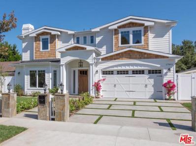 17841 Palora Street, Encino, CA 91316 - #: 18-365524