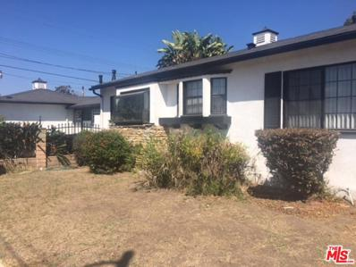 763 W 109TH Place, Los Angeles, CA 90044 - #: 18-383484