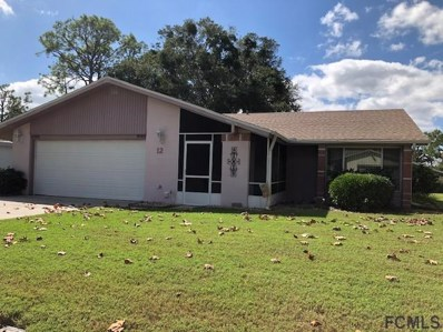 12 Carr Ln, Palm Coast, FL 32137 - #: 239285