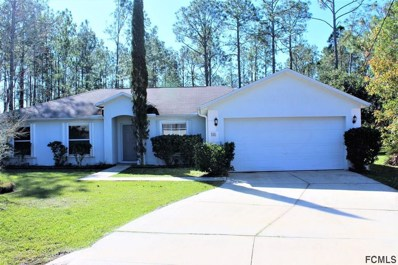 24 Zorach Place, Palm Coast, FL 32164 - #: 244213