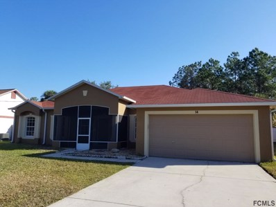 14 NE Burrell Place, Palm Coast, FL 32137 - #: 244598
