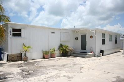 193 2Nd Court, Key Largo, FL 33037 - #: 580517