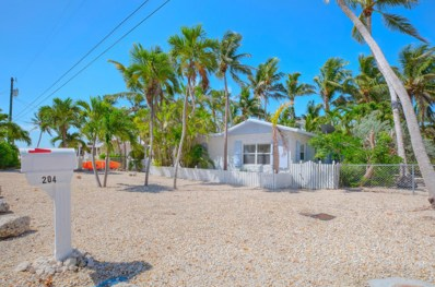 204 Dogwood Lane, Upper Matecumbe Key Islamorada, FL 33036 - #: 581413