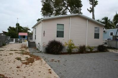 107 1St Court, Key Largo, FL 33037 - #: 582330
