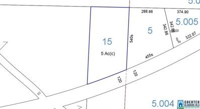 Sylacauga Millerville Hwy UNIT 5 acres, Millerville, AL 36267 - #: 836084