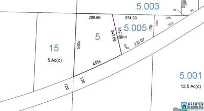 Sylacauga Millerville Hwy UNIT 4 acres, Millerville, AL 36267 - #: 836086