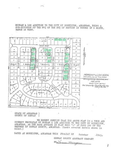 19 Earl Place, Morrilton, AR 72110 - #: 20010053