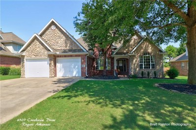 4507 W Creekview Drive, Rogers, AR 72758 - #: 1126209