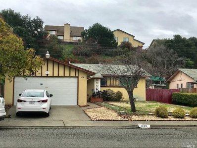 840 Stanford Drive, Vallejo, CA 94589 - #: 21900555