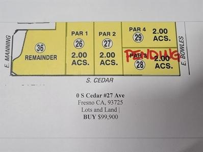 0 S Cedar #29 Avenue, Fresno, CA 93725 - #: 516490