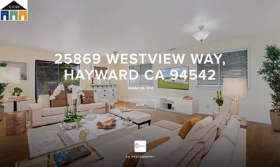 25869 Westview Way, Hayward, CA 94542 - #: 40834320