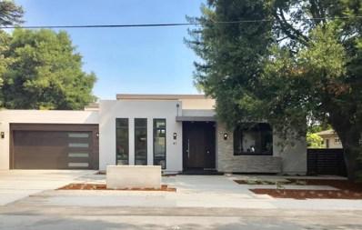 41 Jordan Avenue, Los Altos, CA 94022 - #: 52160872