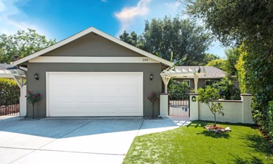 240 Highland Oaks Drive, Los Gatos, CA 95032 - #: 52161459
