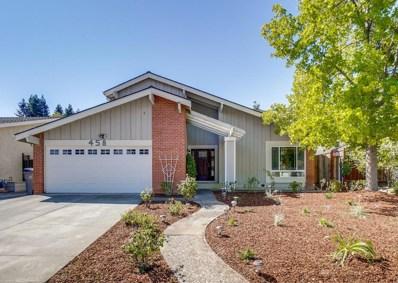458 Curie Drive, San Jose, CA 95123 - #: 52207205