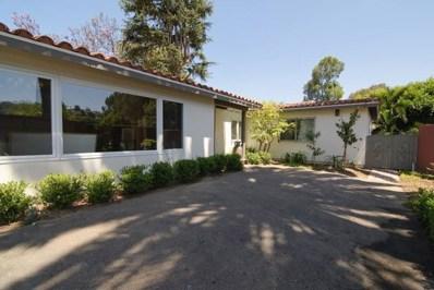 2445 Hidden Valley Road, La Jolla, CA 92037 - #: 180062881