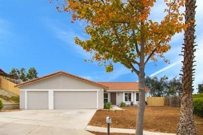 848 Granada Drive, Vista, CA 92083 - #: 180064295