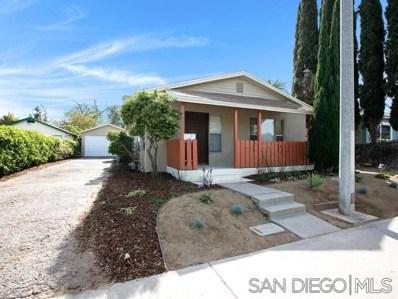 531 Avocado Ave, El Cajon, CA 92020 - #: 190020486