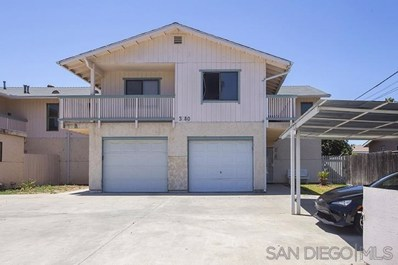 3180 Florine Dr UNIT 4, Lemon Grove, CA 91945 - #: 190059059