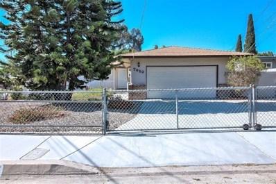 7910 Longdale Dr., Lemon Grove, CA 91945 - #: 190066129