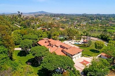 6849 Las Colinas, Rancho Santa Fe, CA 92067 - #: 200026736