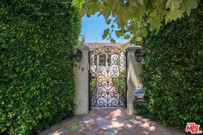 419 N ORLANDO Avenue, Los Angeles, CA 90048 - #: 20541626