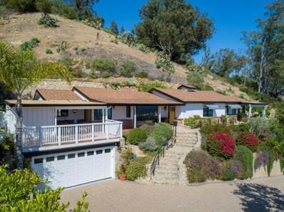 1704 Mission Ridge Road, Santa Barbara, CA 93103 - #: 218009848