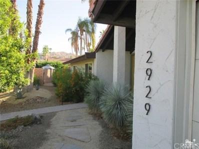 2929 Los Posas Circle, Palm Springs, CA 92264 - #: 218026842DA