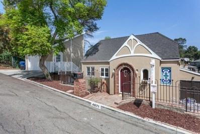 4671 Nob Hill Drive, Los Angeles, CA 90065 - #: 818004333