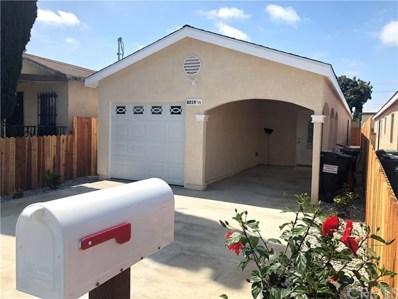 8219 Crockett Boulevard, Los Angeles, CA 90001 - #: DW18106292