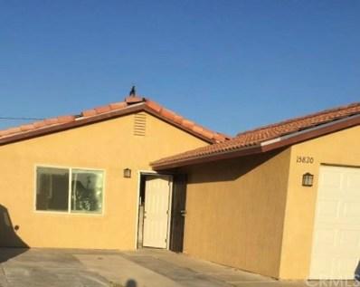 15820 Via Montana, Desert Hot Springs, CA 92240 - #: DW18168058