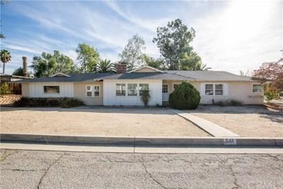 542 Via Vista Drive, Redlands, CA 92373 - #: EV18275741
