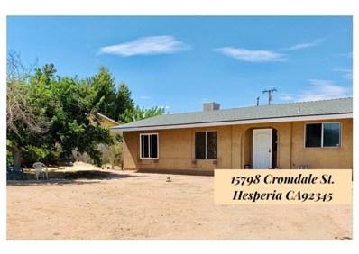15798 Cromdale Street, Hesperia, CA 92345 - #: EV19171948