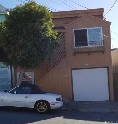 244 Lowell Street, San Francisco, CA 94112 - #: ML81800365