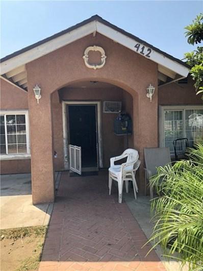 412 Franklin Street, Santa Ana, CA 92703 - #: PW18200348