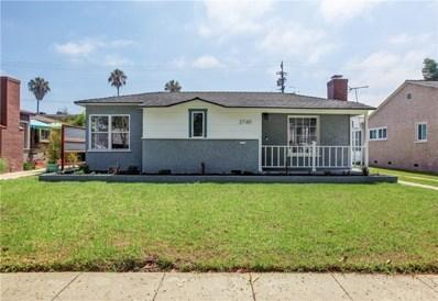 2760 Cedar Avenue, Long Beach, CA 90806 - #: PW19186444