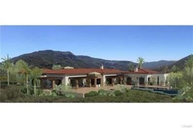 29412 Malibu View Court, Agoura Hills, CA 91301 - #: SR17094017