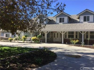 34725 Country Breeze Lane, Agua Dulce, CA 91390 - #: SR19117398