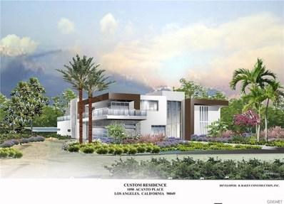 1090 Acanto Place, Los Angeles (City), CA 90049 - #: SR19212461