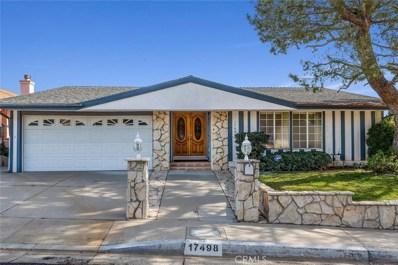 17498 Tuscan Drive, Granada Hills, CA 91344 - #: SR20012694