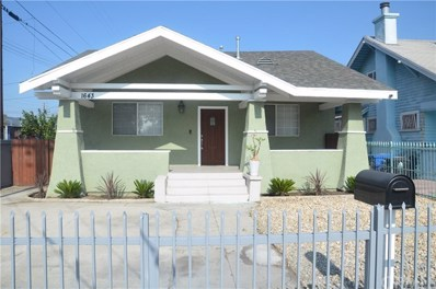 1643 W 48th Street, Los Angeles, CA 90062 - #: SW18270311