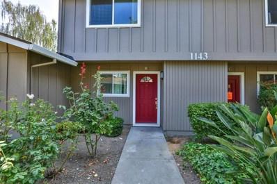 1143 Reed Avenue UNIT B, Sunnyvale, CA 94086 - #: ML81720101