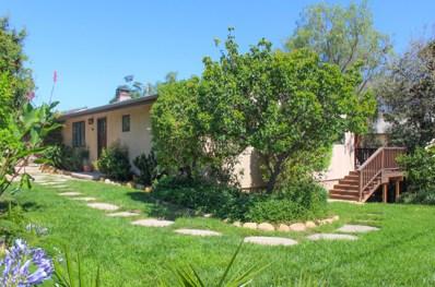 2804 Ben Lomond Dr, Santa Barbara, CA 93105 - #: 18-2820