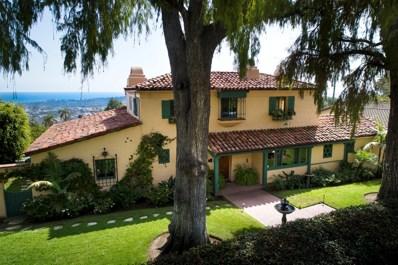 1701 Mira Vista Ave, Santa Barbara, CA 93103 - #: 19-163