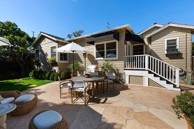 272 Hot Springs Rd, Santa Barbara, CA 93108 - #: 19-745