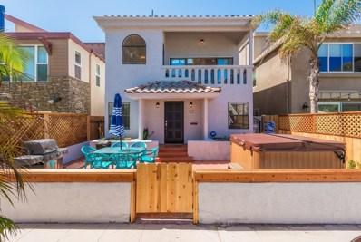 809 Deal Ct, San Diego, CA 92109 - #: 190019754