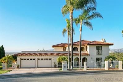 1315 Vista Colina Drive, San Marcos, CA 92078 - #: 190022190