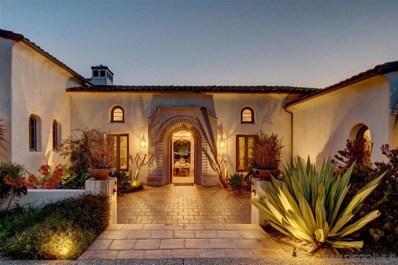 16636 El Zorro Vista, Rancho Santa Fe, CA 92067 - #: 190023024