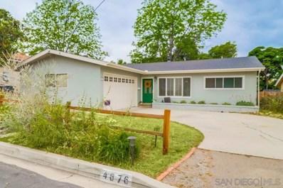 4676 Pomona Ave, La Mesa, CA 91942 - #: 190025342