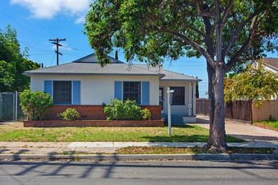 3931 Juniper Street, San Diego, CA 92105 - #: 190031515