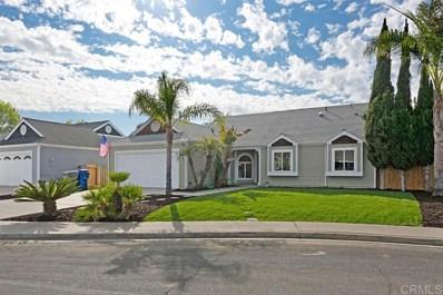621 Myrtlewood Court, Oceanside, CA 92058 - #: 200008742